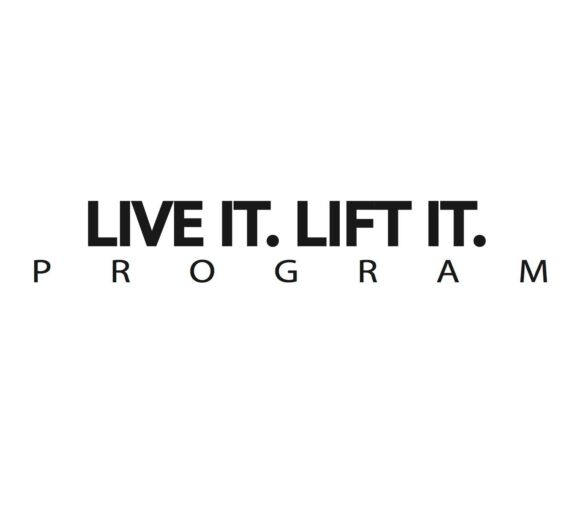 Live it. Lift it. – deine 2. Chance