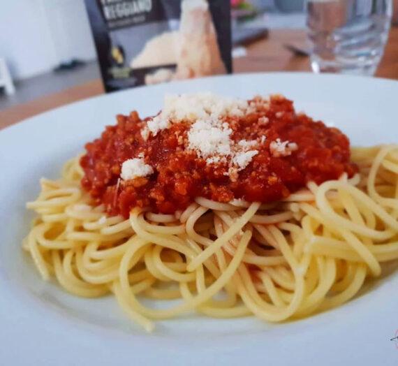Spaghetti Bolognese ohne Zucker