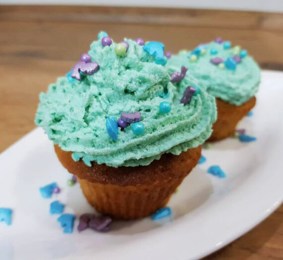 Rezept Kokos-Blaubeer-Cupcakes