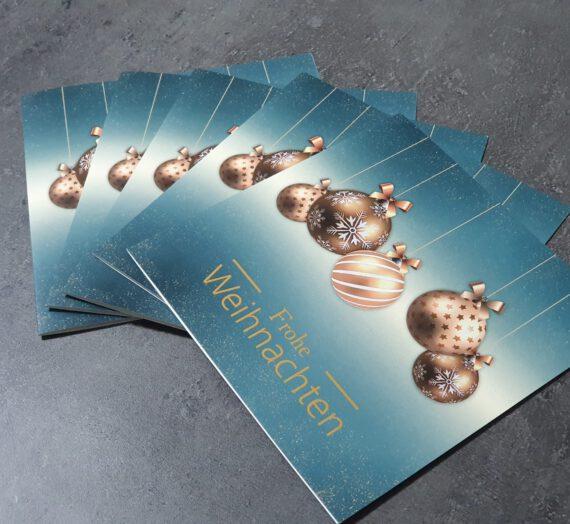 Weihnachtskarten von Kartenkuss.de