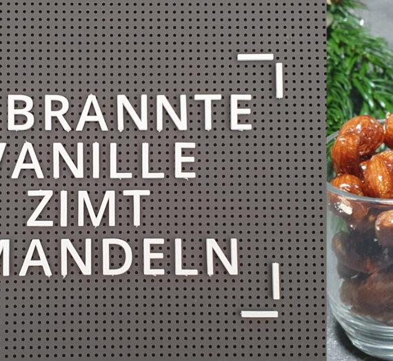Rezept – Gebrannte Vanille-Zimt-Mandeln