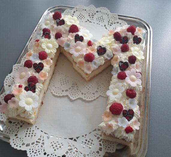 Rezept – Letter Cake